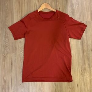lululemon Mens Metal Vent Tech Tee SS Red